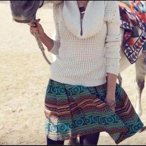 Iremel Brocade Skirt by Nomad by Morgan Carper